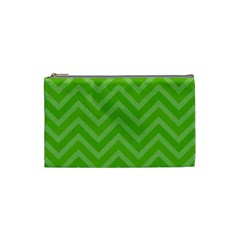 Zigzag  pattern Cosmetic Bag (Small)