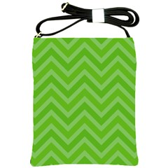Zigzag  pattern Shoulder Sling Bags