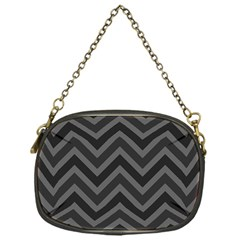 Zigzag  pattern Chain Purses (One Side)