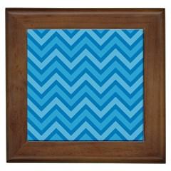 Zigzag  pattern Framed Tiles