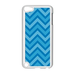 Zigzag  pattern Apple iPod Touch 5 Case (White)