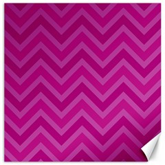 Zigzag  pattern Canvas 12  x 12