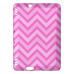 Zigzag  pattern Kindle Fire HDX Hardshell Case