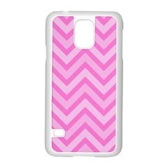Zigzag  pattern Samsung Galaxy S5 Case (White)