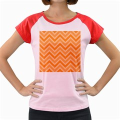 Zigzag  pattern Women s Cap Sleeve T-Shirt