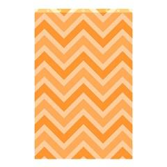 Zigzag  pattern Shower Curtain 48  x 72  (Small)
