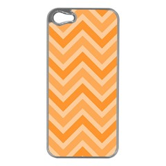 Zigzag  pattern Apple iPhone 5 Case (Silver)