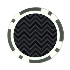 Zigzag  pattern Poker Chip Card Guard
