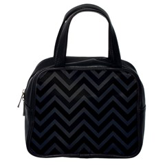 Zigzag  pattern Classic Handbags (One Side)