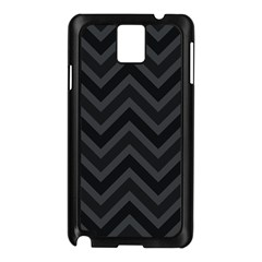 Zigzag  pattern Samsung Galaxy Note 3 N9005 Case (Black)