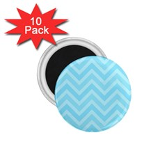 Zigzag  pattern 1.75  Magnets (10 pack)