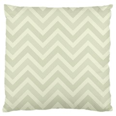 Zigzag  pattern Large Cushion Case (One Side)