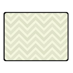 Zigzag  pattern Double Sided Fleece Blanket (Small)