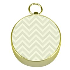 Zigzag  pattern Gold Compasses