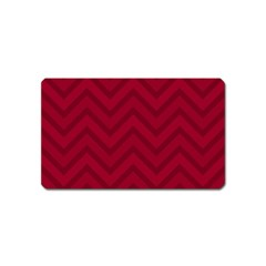 Zigzag  pattern Magnet (Name Card)