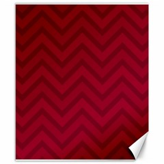 Zigzag  pattern Canvas 8  x 10