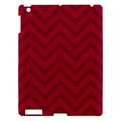 Zigzag  pattern Apple iPad 3/4 Hardshell Case