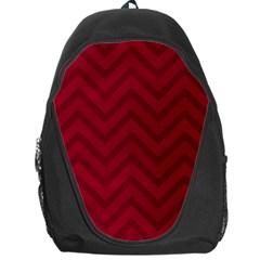 Zigzag  pattern Backpack Bag