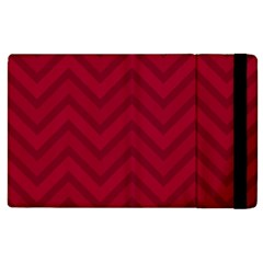 Zigzag  pattern Apple iPad 2 Flip Case