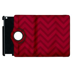 Zigzag  pattern Apple iPad 3/4 Flip 360 Case