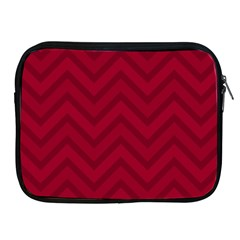 Zigzag  pattern Apple iPad 2/3/4 Zipper Cases