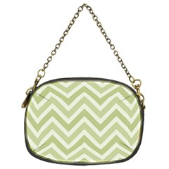 Zigzag  pattern Chain Purses (Two Sides)