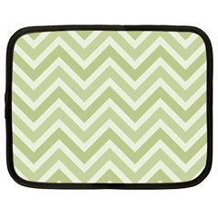 Zigzag  pattern Netbook Case (XXL)