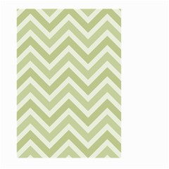 Zigzag  pattern Large Garden Flag (Two Sides)