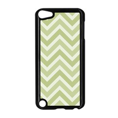 Zigzag  pattern Apple iPod Touch 5 Case (Black)