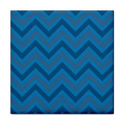Zigzag  pattern Face Towel