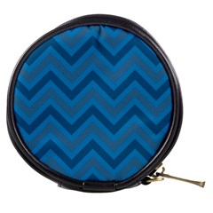 Zigzag  pattern Mini Makeup Bags