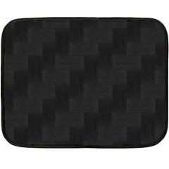 Zigzag  pattern Fleece Blanket (Mini)