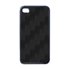 Zigzag  pattern Apple iPhone 4 Case (Black)