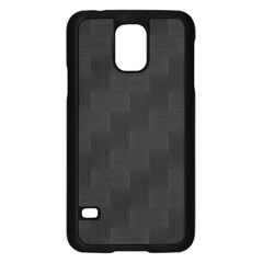 Zigzag  pattern Samsung Galaxy S5 Case (Black)