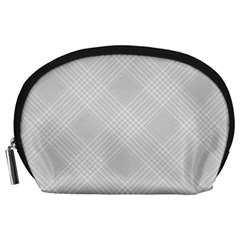 Zigzag  pattern Accessory Pouches (Large)