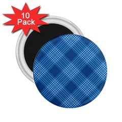 Zigzag  pattern 2.25  Magnets (10 pack)