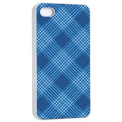 Zigzag  pattern Apple iPhone 4/4s Seamless Case (White)