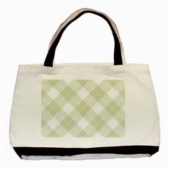Zigzag  pattern Basic Tote Bag