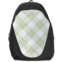 Zigzag  pattern Backpack Bag