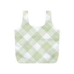 Zigzag  pattern Full Print Recycle Bags (S)