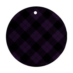 Zigzag pattern Ornament (Round)