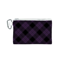 Zigzag pattern Canvas Cosmetic Bag (S)