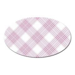 Zigzag pattern Oval Magnet