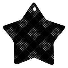 Zigzag pattern Ornament (Star)