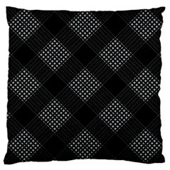 Zigzag pattern Large Cushion Case (One Side)