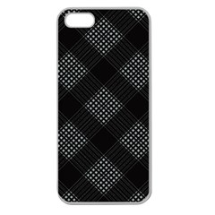 Zigzag pattern Apple Seamless iPhone 5 Case (Clear)