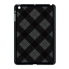 Zigzag pattern Apple iPad Mini Case (Black)