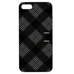 Zigzag pattern Apple iPhone 5 Hardshell Case with Stand