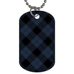 Zigzag pattern Dog Tag (Two Sides)