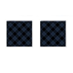 Zigzag Pattern Cufflinks (square)